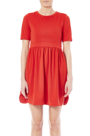 NU New York Bow Babydoll Dress - Side cropped
