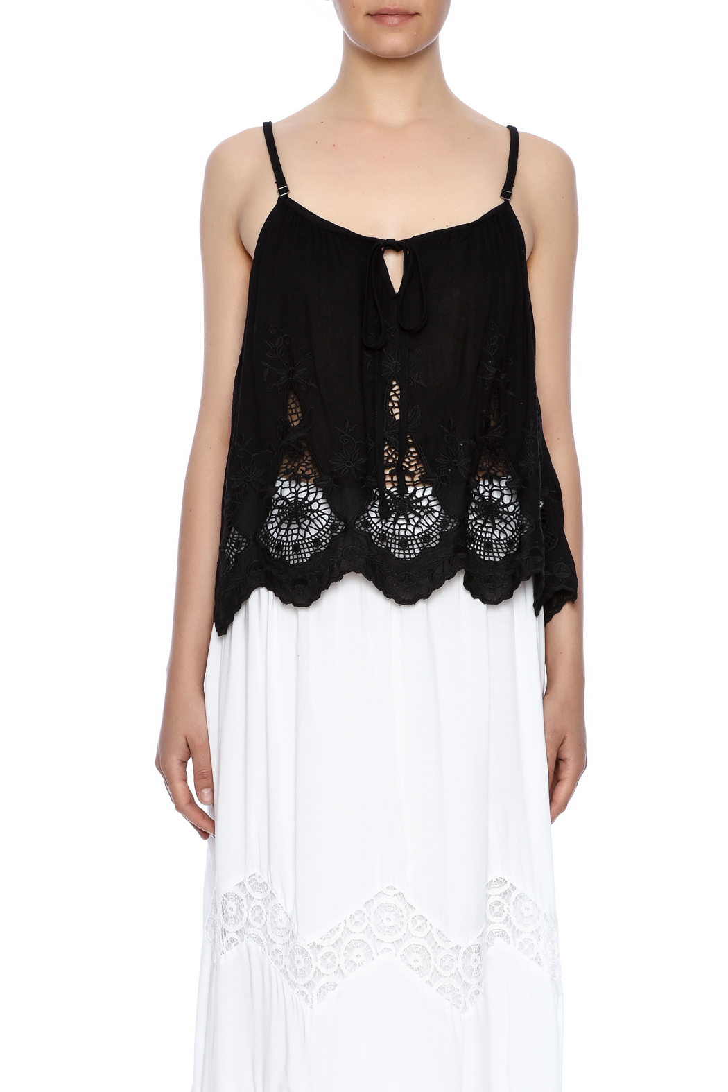 NU New York Catwalk Camisole Blouse - Side Cropped Image