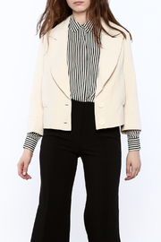 NU New York Cream Cropped Blazer - Product Mini Image