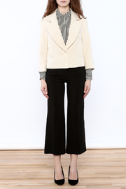 NU New York Cream Cropped Blazer - Other