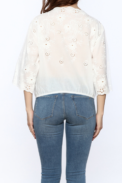 Shoptiques Product: Eyelet Cotton Top
