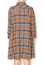 NU New York Fearless Flannel Dress - Back cropped