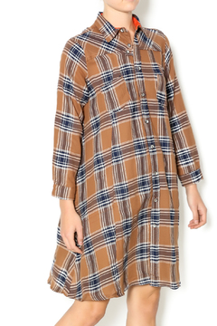 NU New York Fearless Flannel Dress - Product List Image