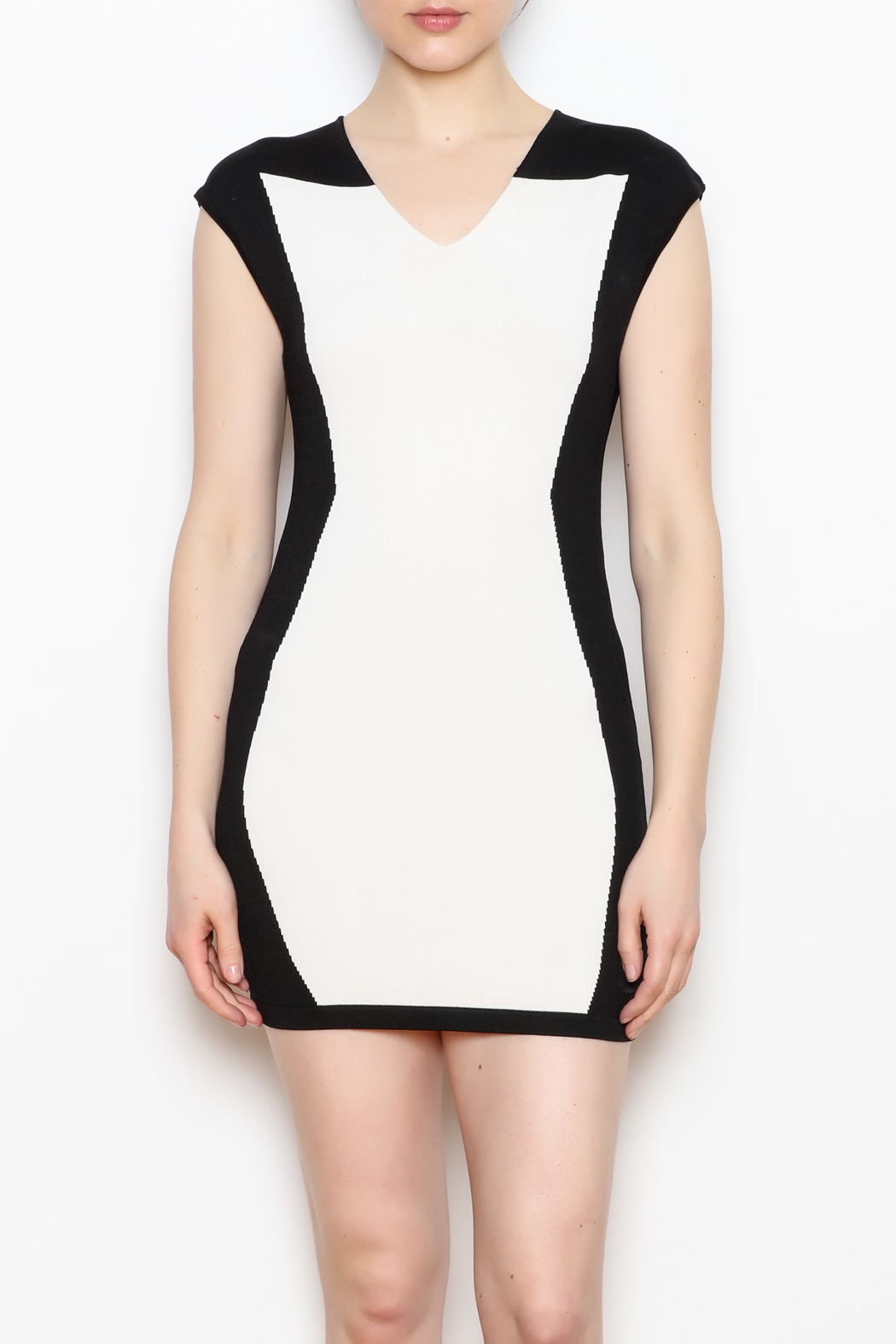 NU New York Fitted Mini Dress - Main Image