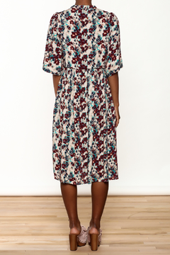 NU New York Floral Silky Midi Dress - Alternate List Image