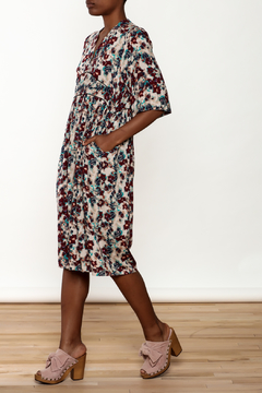 Shoptiques Product: Floral Silky Midi Dress