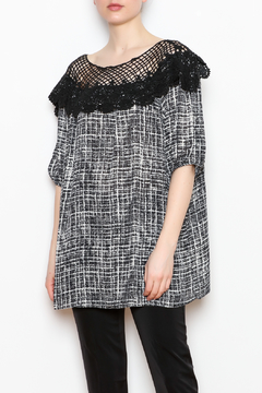 NU New York Lace Print Top - Product List Image