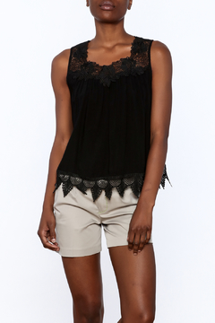 NU New York Lace Detail Tank Top - Product List Image