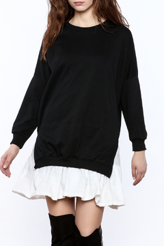 Shoptiques Product: Layered Sweatshirt Dress