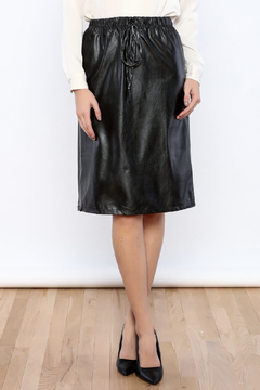 Shoptiques Product: Leatherette Skirt