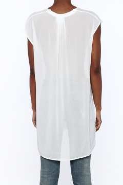 NU New York Long White Knit Top - Alternate List Image