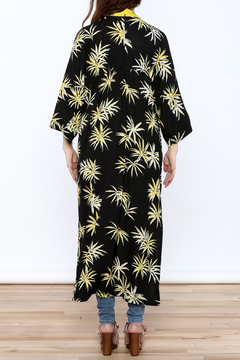 NU New York Floral Print Long Kimono - Alternate List Image