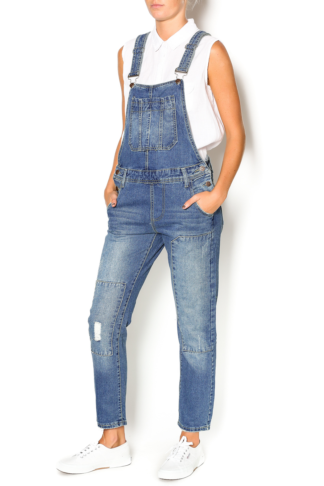 NU New York Old School Overall - Front Full Image