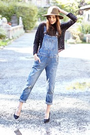 NU New York Old School Overall - Front cropped