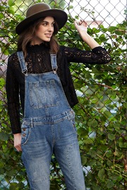 NU New York Old School Overall - Back cropped