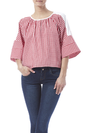 Shoptiques Product: Poplin Striped Top