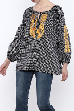 Shoptiques Product: Printed Embroidered Top