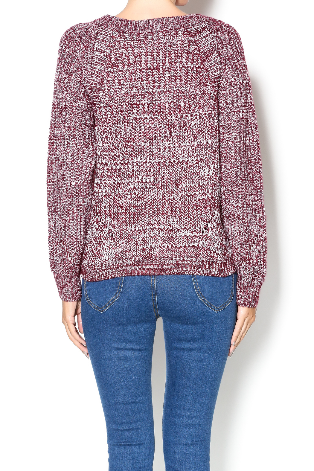 NU New York Red Marled Sweater from Union Square — Shoptiques