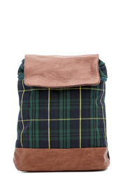NU New York Scottish Plaid Backpack - Product Mini Image