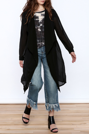 NU New York Sheer Black Jacket - Product Mini Image