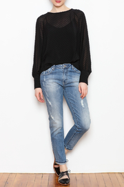 NU New York Sheer Chiffon Blouse - Front full body
