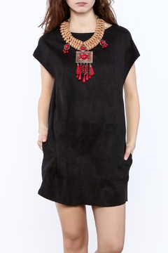 Shoptiques Product: Suedette Mini Dress