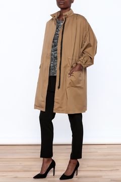 NU New York Tan Coat - Product List Image