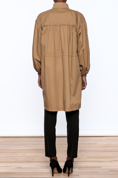 NU New York Tan Coat - Alternate List Image