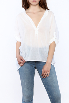 Shoptiques Product: White Sheer Blouse