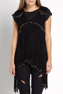Shoptiques Product: Beaded Fringe Vest