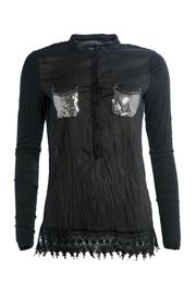 NU Denmark Sequin Pocket Blouse - Product Mini Image