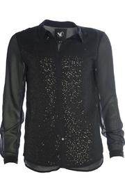 NU Denmark Sequin Sheer Blouse - Product Mini Image