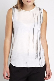 NU Denmark Sleeveless Chiffon Top - Product Mini Image