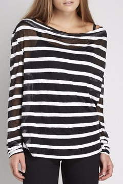 NU Denmark Striped Long Sleeves Top - Product List Image