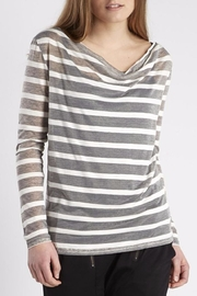 NU Denmark Striped Long Sleeves Top - Product Mini Image
