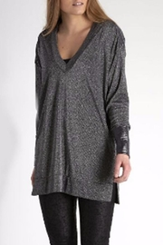 NU Denmark Turnable Metallic Tunic - Front cropped