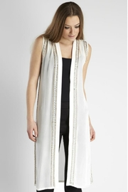 NU Denmark Vest With Beads - Front cropped