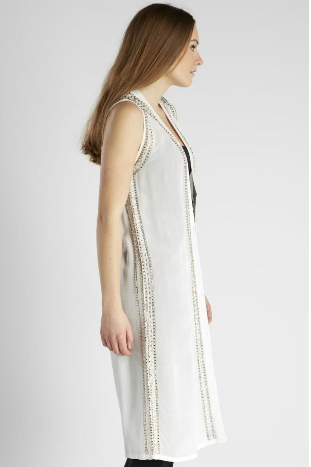 NU Denmark Vest With Beads - Side Cropped Image