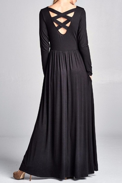 Shoptiques Product: Back Lace-Up Maxi