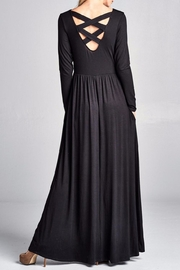 Nu Label Back Lace-Up Maxi - Product Mini Image