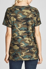 Nu Label Camo Chocker Tee - Front full body