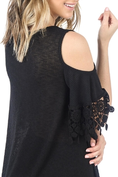 Nu Label Cold-Shoulder Knit Top - Alternate List Image