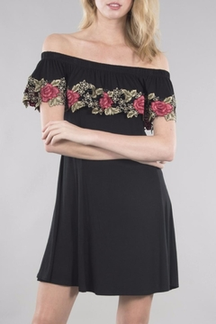 Shoptiques Product: Flower Detailed Dress