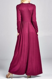 Nu Label Maxi-Dress With Pockets - Other