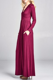 Nu Label Maxi-Dress With Pockets - Back cropped