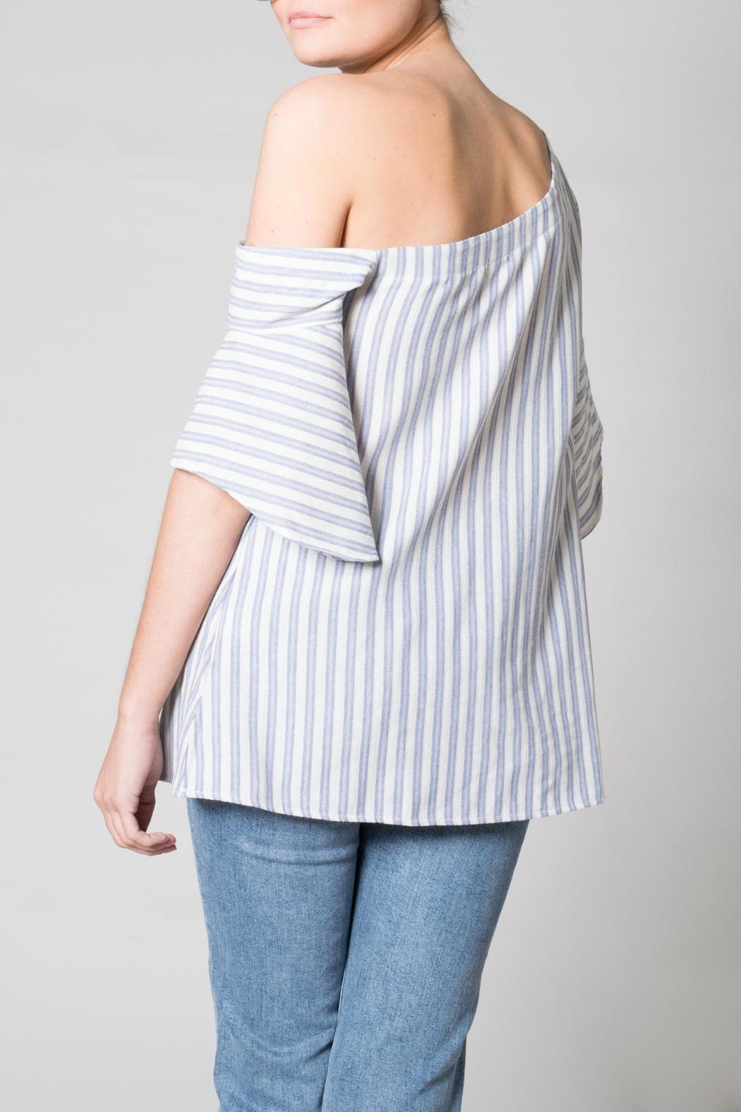 Nu Label One Shoulder Top - Front Full Image