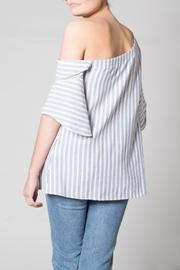 Nu Label One Shoulder Top - Front full body