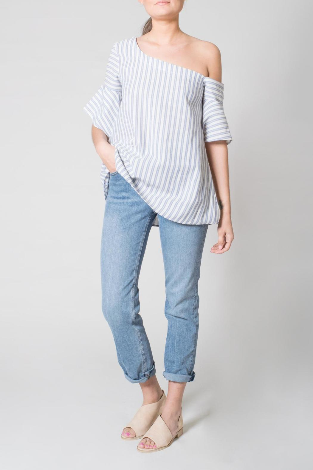 Nu Label One Shoulder Top - Main Image
