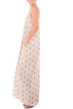 Nu Label Print Maxi Dress - Alternate List Image