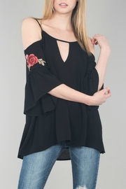 Nu Label Rosie Cold Shoulder Top - Product Mini Image